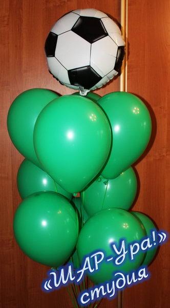 футбольный мяч из шаров