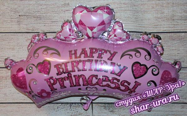 шар корона для девочки