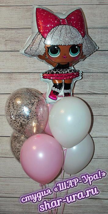 кукла лол шары