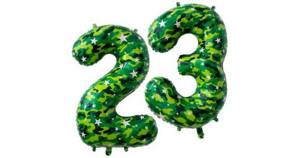 цифры 23