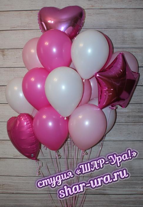 большие розовые фонтаны