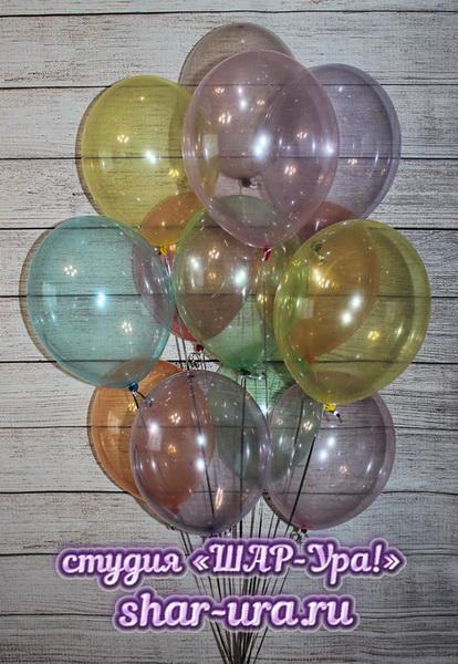 шары как мыльные пузыри