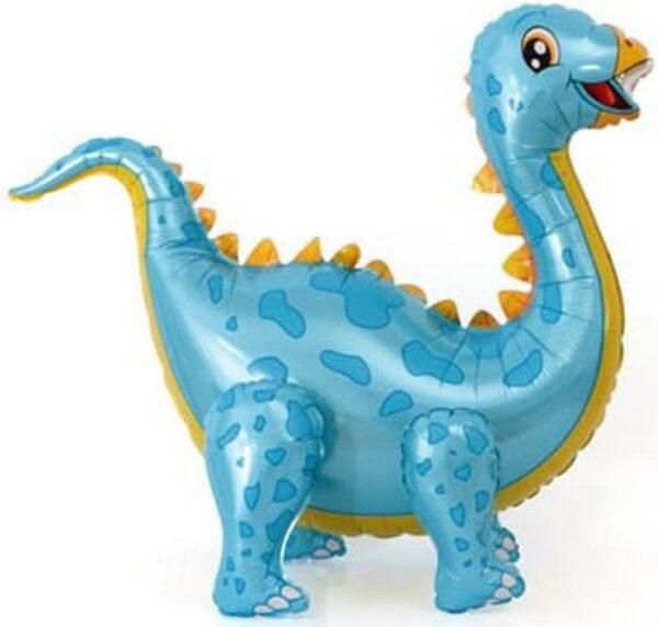 динозаврик голубой