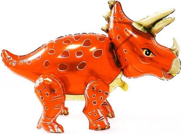 динозаврик оранжевый